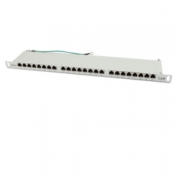 Patch Panel 24xTP, CAT6, 250Mhz, 19