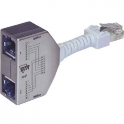 METZ CONNECT Cable-sharing Adapter ISDN/ISDN Set